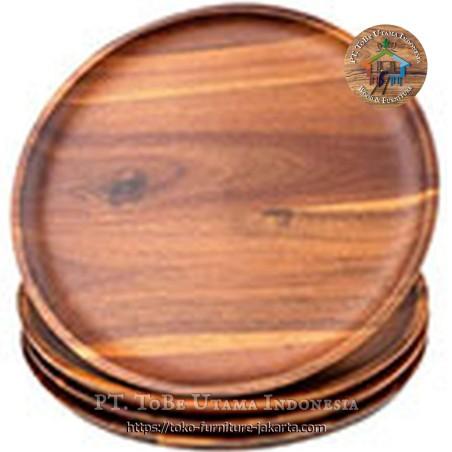 Kitchen Plates Natural