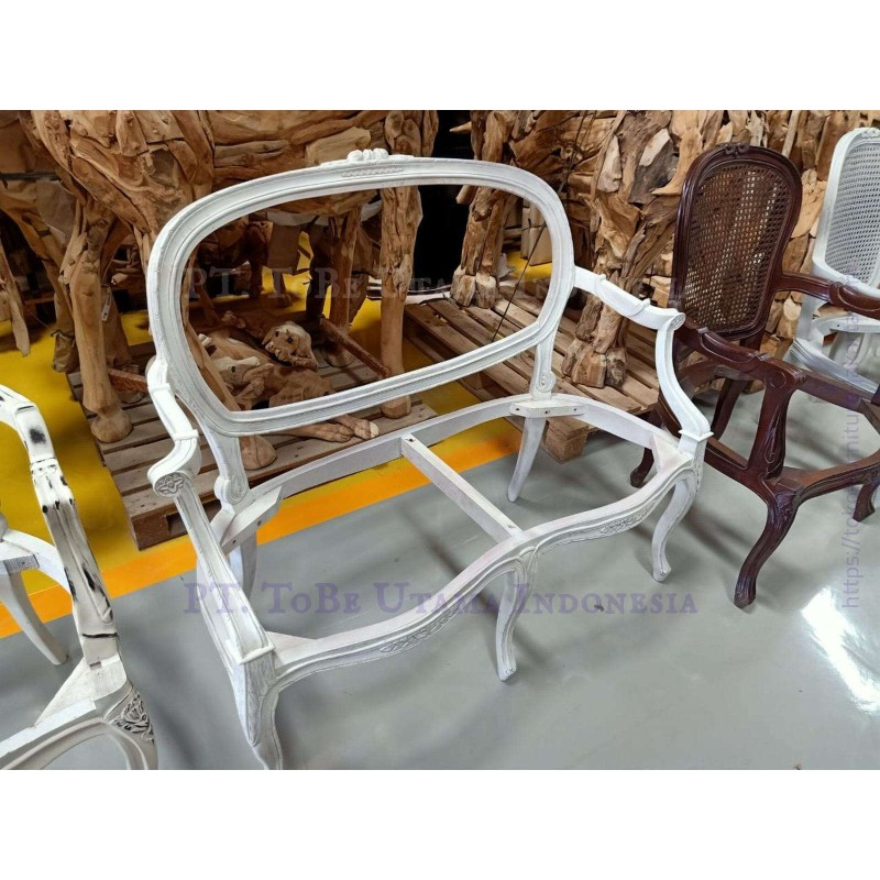 Racoco white 2 Seats