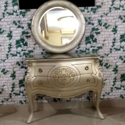 Dressing Table Karina + Mirror