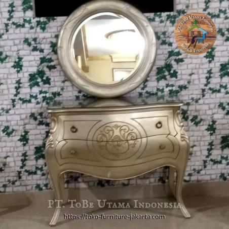 Dressing Table Karina + Mirror