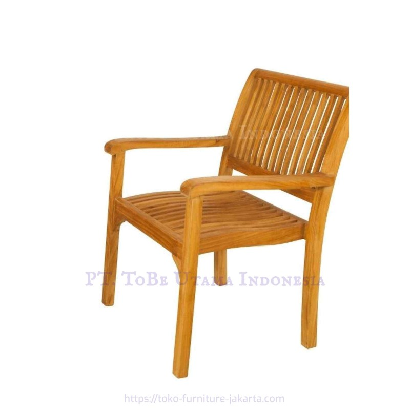 Teak Wood Garden Furniture with Arms