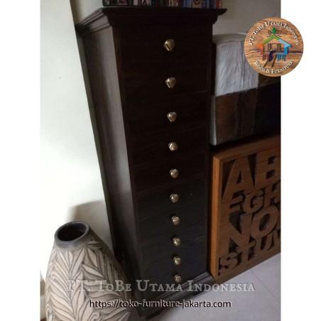 Teak Wood Filling Cabinet
