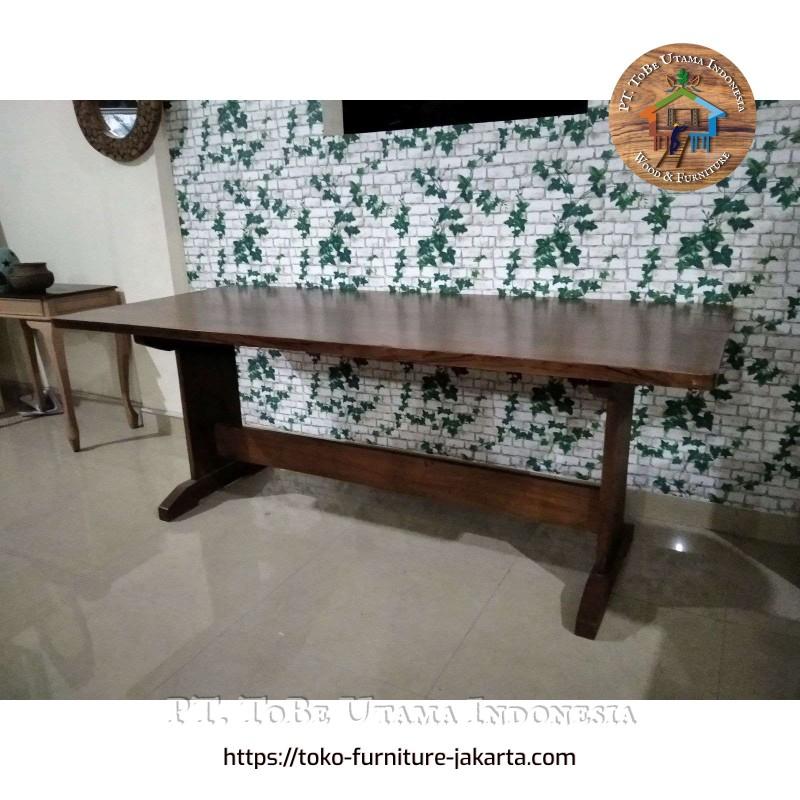 Teak Wood Family Dining Table