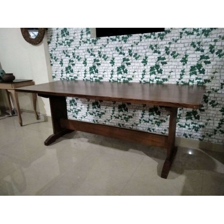 Teak Wood Family Dining Table