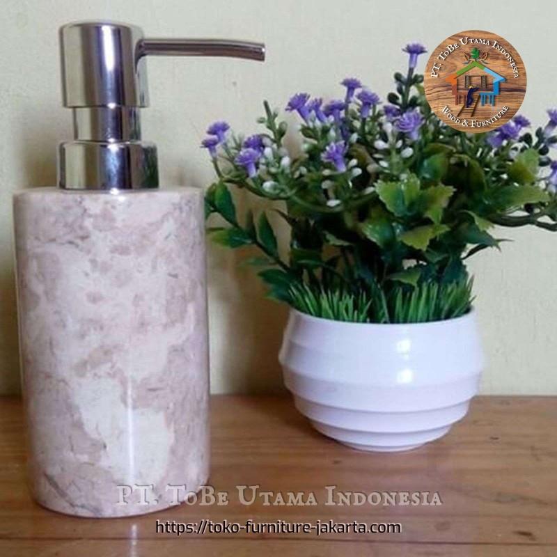 Marble Soap Bottle