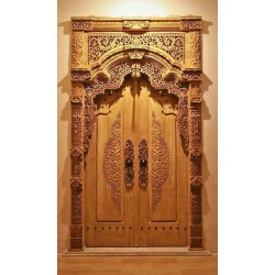 Betawi Doors with Keris