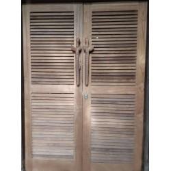 Betawi Doors with Keris
