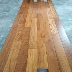 Flooring Teakwood Finished