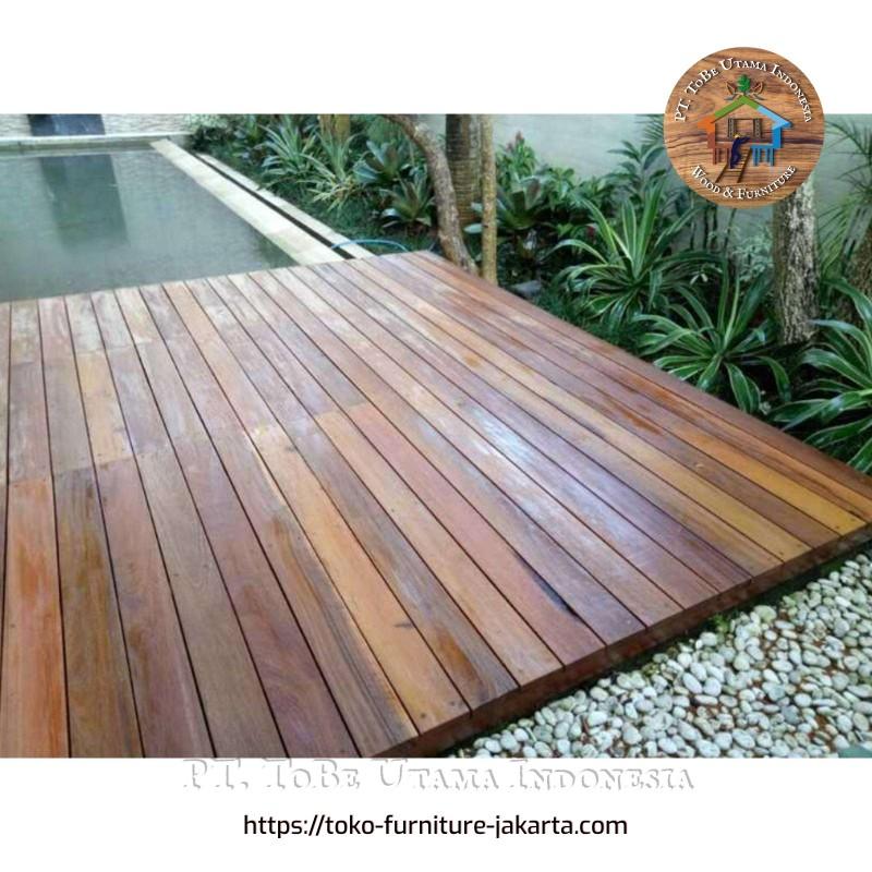 Flooring Bengkirai Finished